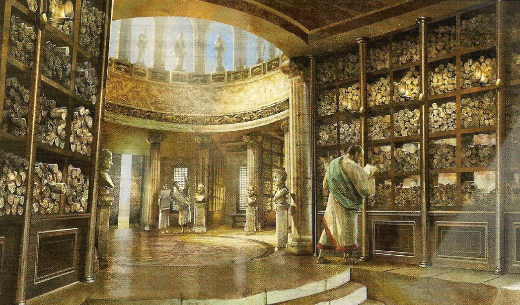 library-of-alexandria