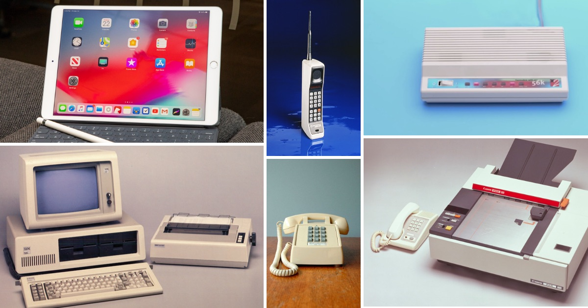 Technology in the office: From typewriters to smartphones